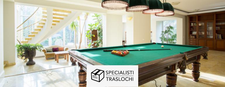 Come movimentare un tavolo da biliardo nel tuo trasloco internazionale – Specialisti Traslochi