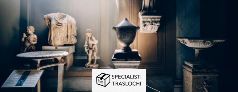 Trasporto opere d'arte – Specialisti Traslochi