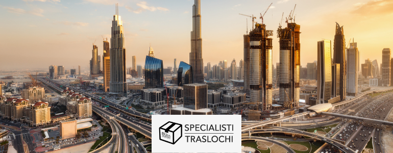 Traslochi internazionali Italia Dubai – Specialisti Traslochi