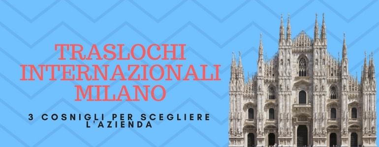 La guida per traslocare da Milano