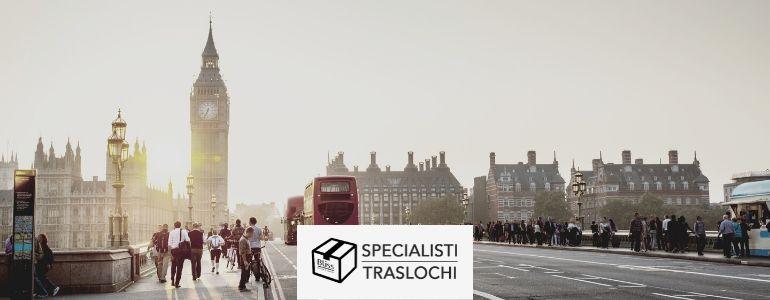Traslochi Italia Inghilterra – Specialisti Traslochi