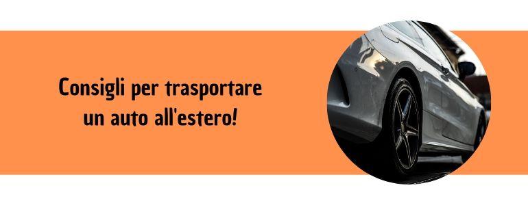trasporto auto estero