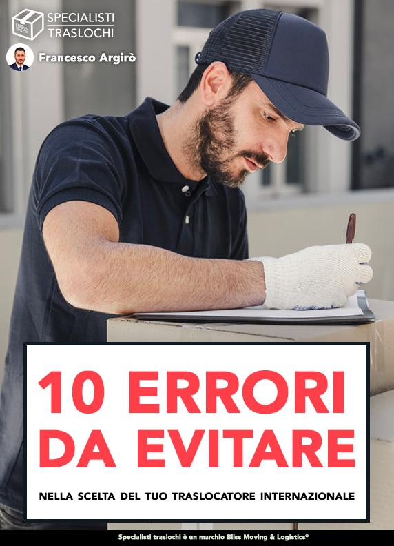 10 errori da evitare